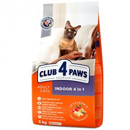 Club 4 Paws - Club 4 Paws Cat Indoor 4 in 1