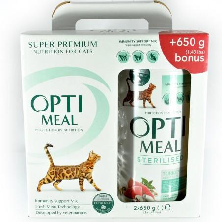 Optimeal - Optimeal Cat Sterilizate Curcan si Ovaz