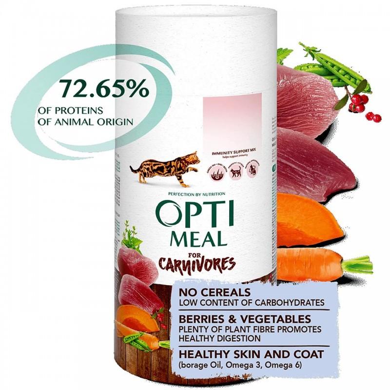 Optimeal - Optimeal Cat Grain Free Rata si Legume