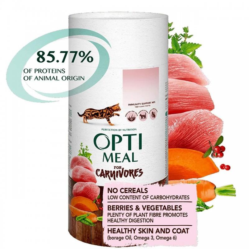 Optimeal - Optimeal Cat Grain Free Curcan si Legume