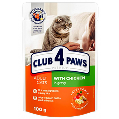 Club 4 Paws - Club 4 Paws Adult Cat Pui in Sos